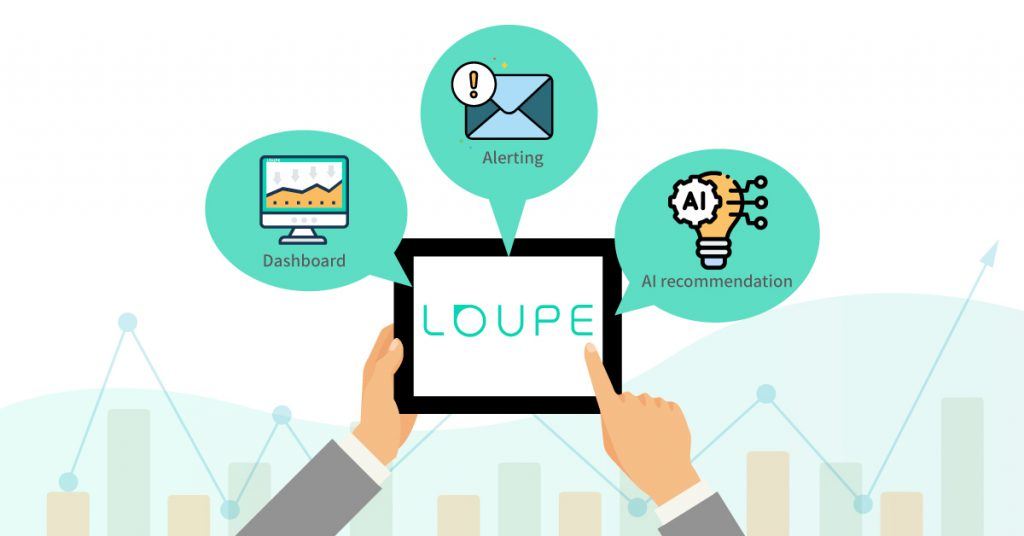"The three major functions provided by Loupe can help the marketing industry teams solve the ""pain points"" in operations."
